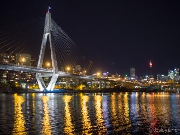 ANZAC Bridge, Sydney.