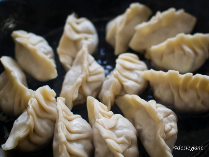 Pot Stickers. 17mm f/1.8 1/40s ISO200