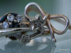 I saved up for this star ring when I was in my first job. It wasn't particularly expensive, but it was a little luxury.