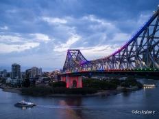 Bridge at Dusk.