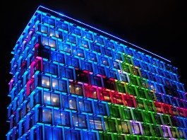 Council House in Blue.
