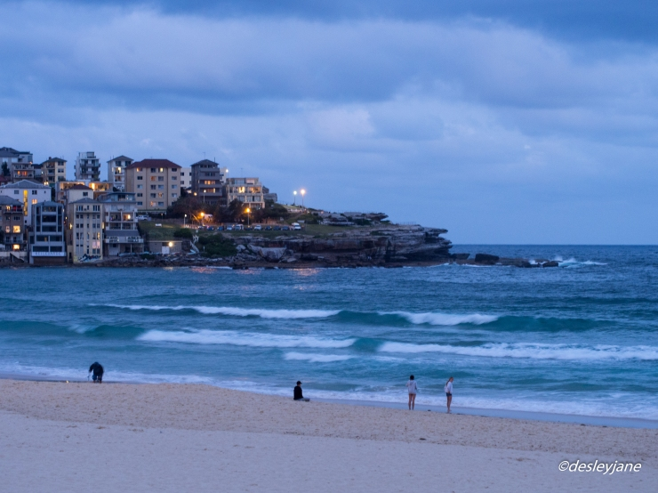 Bondi by Night. 60mm f/4.0 1/5s ISO800