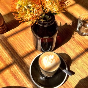 Coffee in the Sunshine