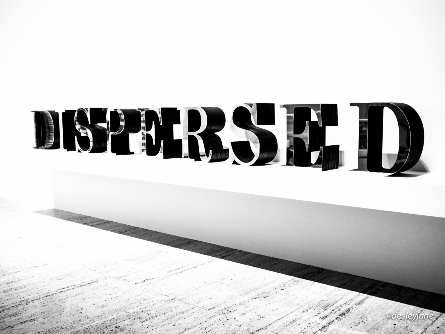 Dispersed.