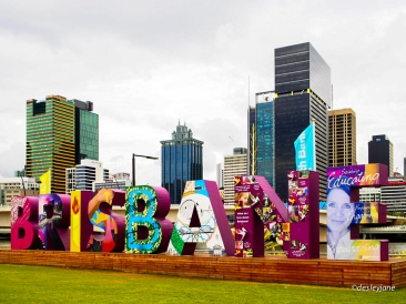 Brisbane Sign.