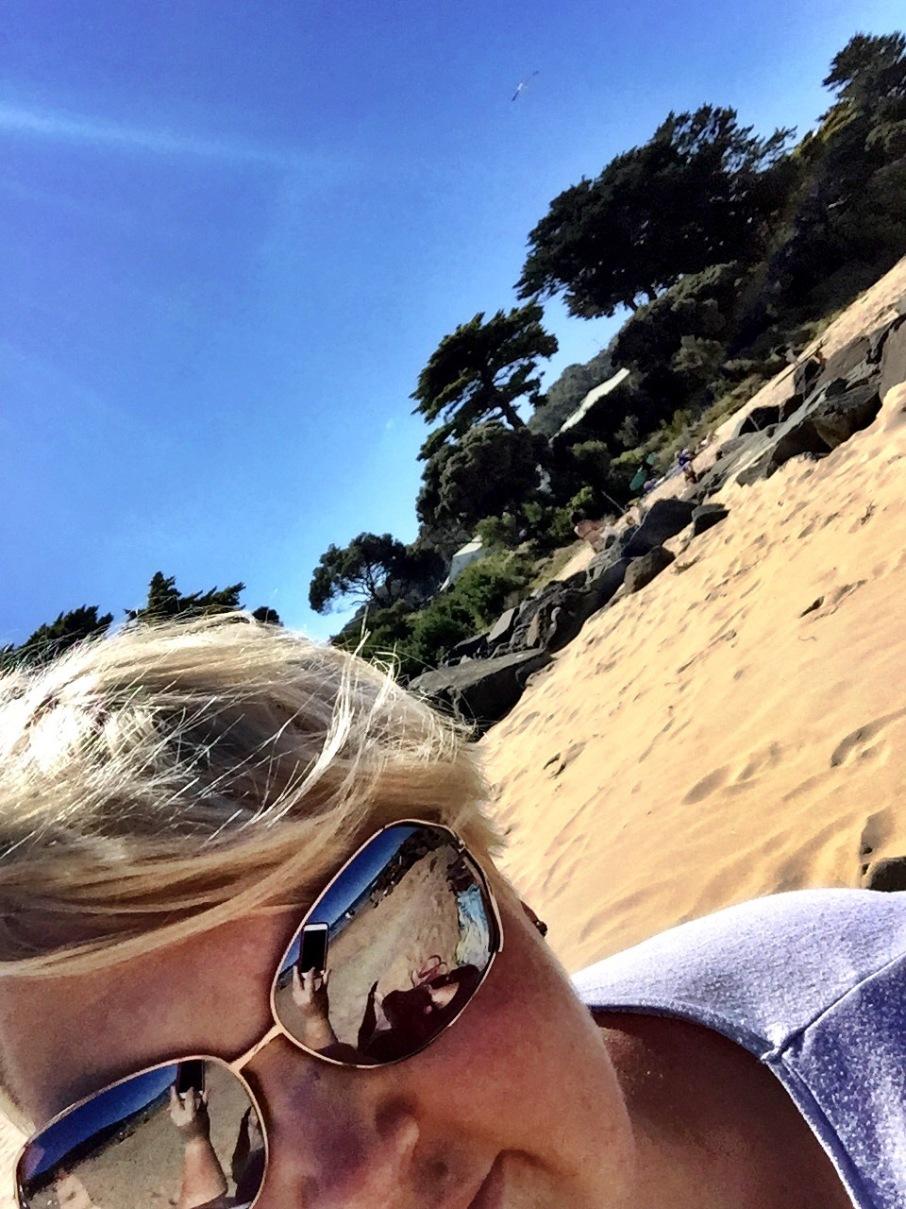 Beach Selfie.