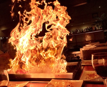 Teppanyaki - so much fun.