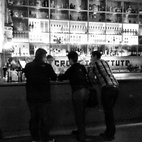 The fellas at the bar.