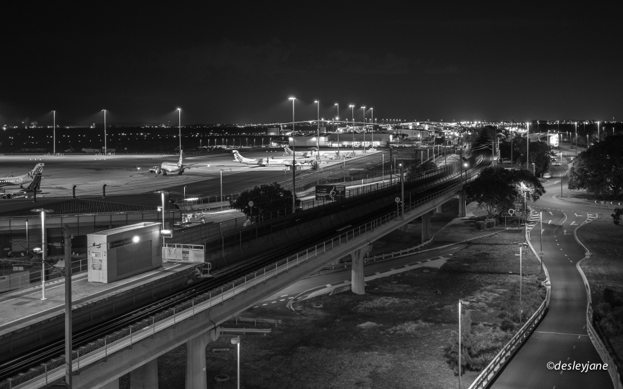 Brisbane Airport.