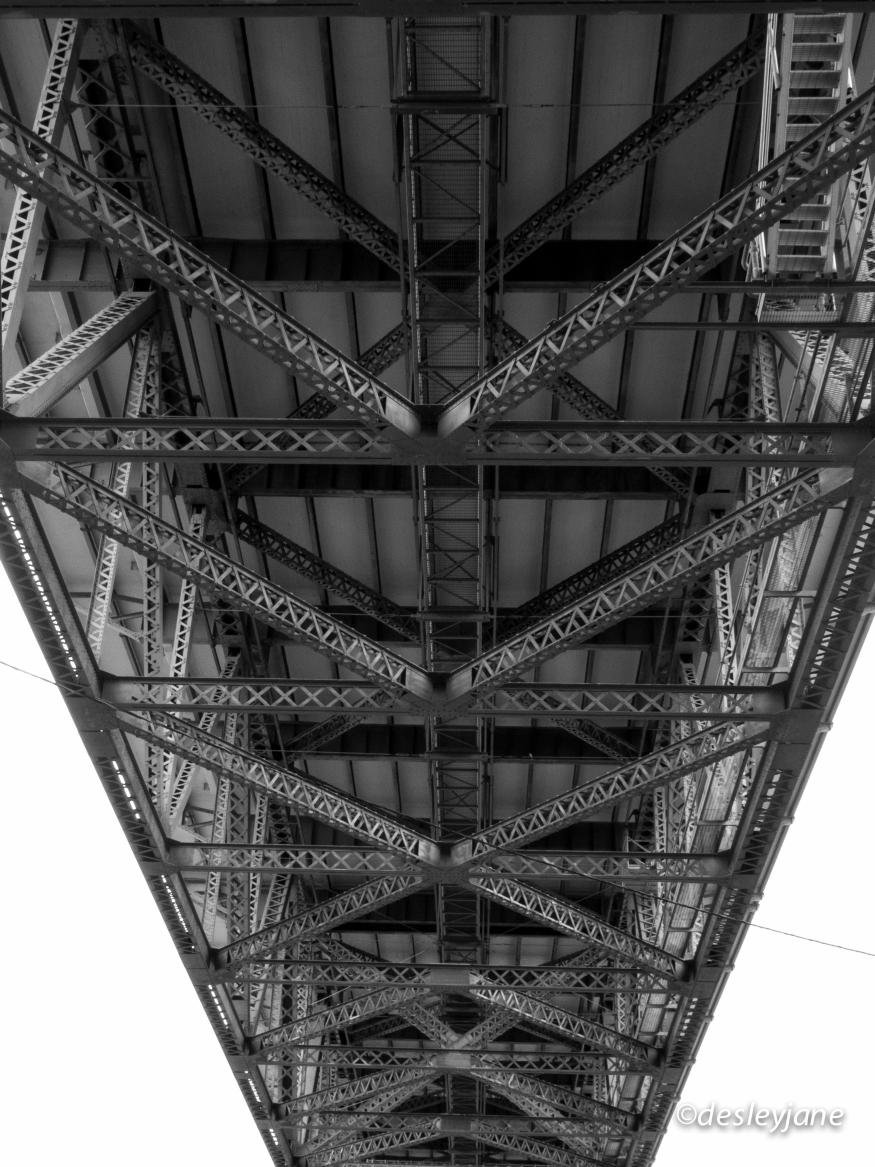 Right under the Bridge.