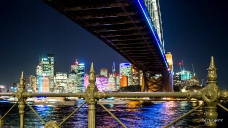 Near and Far Bridge and City.
