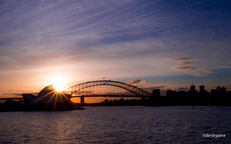 Sunset Panorama.