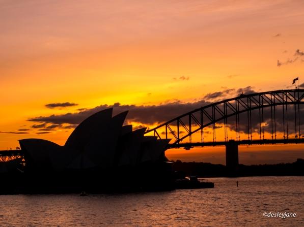 Opera House Silhouette.