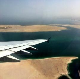 Leaving Dubai.