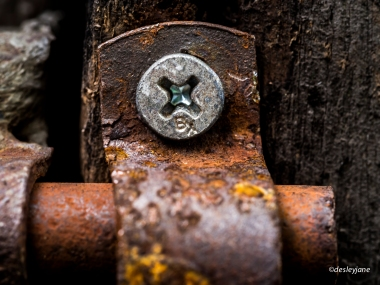 New Screw, Old Rust,