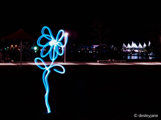 Flashlight Flower