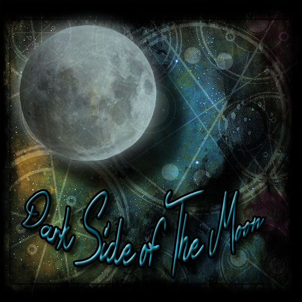 Julz' Dark Side of the Moon is a gorgeous cover with beautiful shades and text.