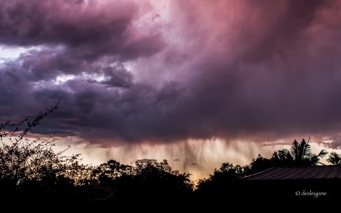 Rain in the Sunset