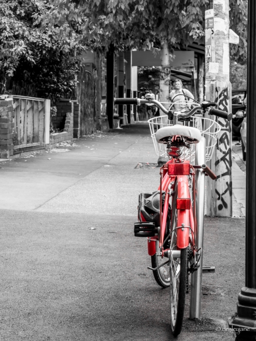 Red Bicycle.