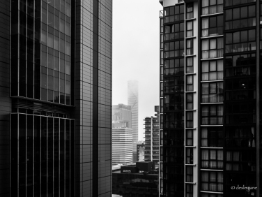 Morning Mist in the City.