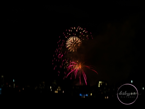 New Years Eve Fireworks - Melbourne 2016