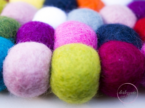 round felt balls
