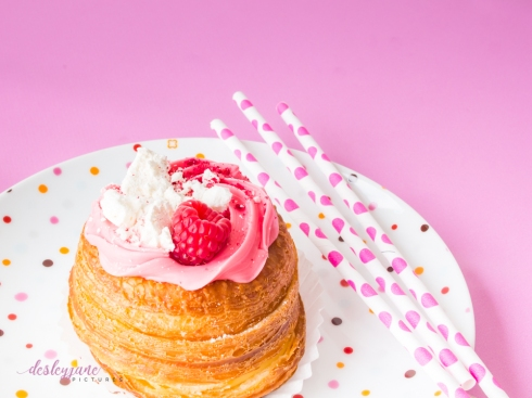 Raspberry Cronut-24