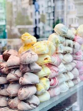 enormous meringues